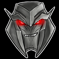 Megatron Helm by Laserbot