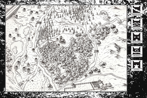 Map of the Clans: Wordless Version by SkywardMeganium