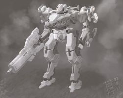 My Armored Core by ModalMechanica