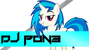 DJ Pon-3 Wallpaper by RDbrony16