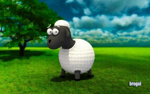 Sheep from Brogui Blog by osmala