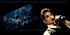 Adam Lambert loves True Blood by SeverusSnape94