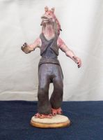 Mesa Jar Jar Binks by superclayartist