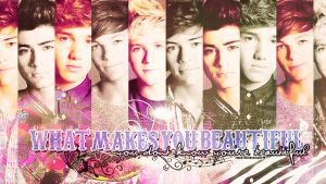 Wallpaper One direction. by moustache-designs