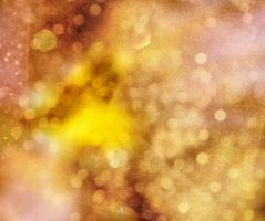 bokeh yellow and gold noise by erykucciola-sToCk