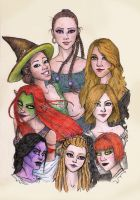 Female lineage by LiberLibelula