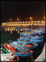 Bari Harbour by faby8181