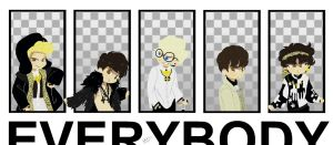 SHINee EVERYBODY by Pulimcartoon