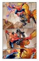 Spider-Man page 1 by Phil-Crash-Murphy