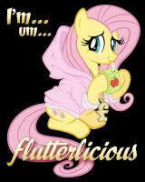 Flutterlicious Print by tygerbug
