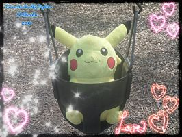 Pikachu In A Swing by Levi-Ackerman-Heicho