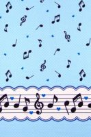Music notes dots blue by Yvette-chan