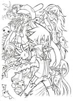 Disgaea ink comission by MarisaArtist