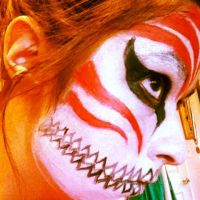 Ichigo Facepaint by MidnightAmane