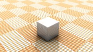 Lone Cube by JS92