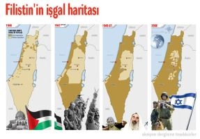 Occupation Map of Palestine by ademmm
