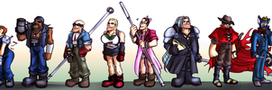 TF2 as FF7 by DarkLitria