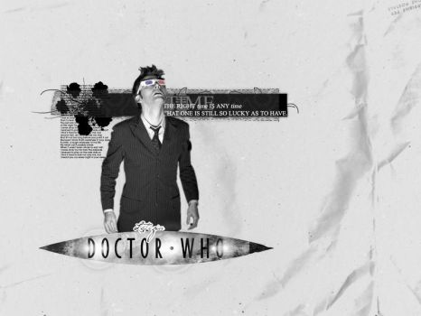 Doctor Who Wallpaper1 by Letizia