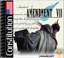 Amendment VII - FF7 Parody Box by MegaMac