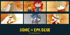New Sonic Epilogue screens by mree