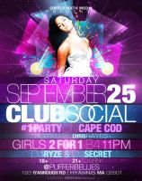 Club Social Flyer 1 by AnotherBcreation