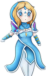 Rylai :: Crystal Maiden :: Dota 2 by Mewi1