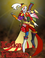 Kefka Palazzo by Xain-Russell