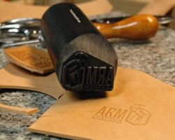 ARM Leather - stamp 2 by Blackthornleather