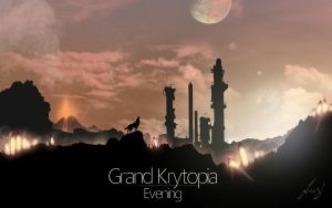 Kylelia - Grand Krytopia - Evening by Lucsy3012