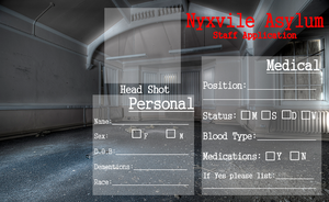 Nyxvile Asylum Staff Application by Midnyte-Wolff