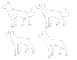 dog bases by Sinwolf666