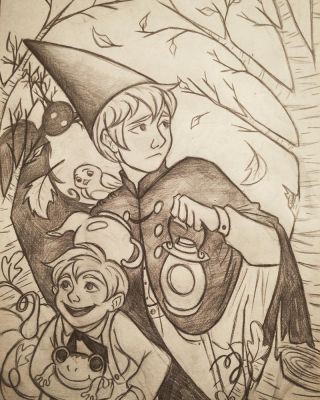 Over the Garden Wall by 7Lisa