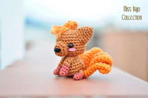 Chibi vulpix by MissBajoCollection