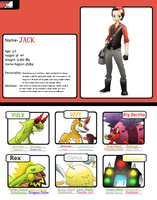 Fakemon-Battle App. -Jack by T-Reqs