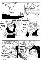 Ultimate Battle : Vegetto Vs Gogeta PAG.1 by francesco8657