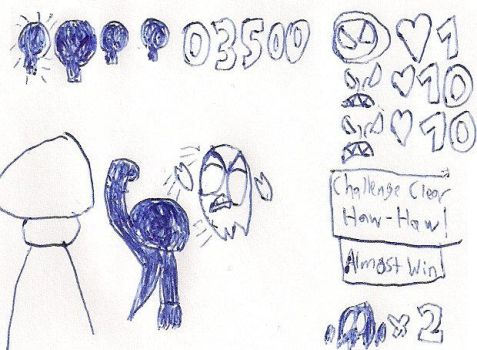 Doodles: Game Interface 03 by PantaroParatroopa