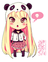 sweet chibi panda girl... by Tobari21