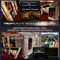 INFERNAL VISIONS Art Show by ToysoldierThor