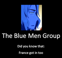 The Blue Men Group by fish807