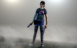 Zoey Silent Hill Style by Rastifan