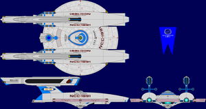 USS Hannah Multi-View by captshade
