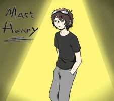 Matt Henry by Beary-Boo