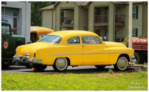 A Yellow 1951 Mercury Custom by TheMan268