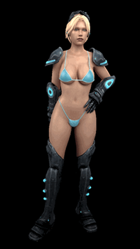 Nova Bikini Idle Stance Animation by ProtocolX27