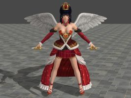 DOA5U Nyotengu Halloween 2014 (Updated) by zareef