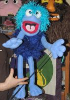 Fraggle clone Puppet by PuppetSmith Arts by kingart4