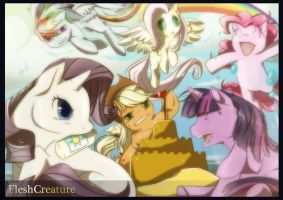 My little Pony Friendship Is Magic_Forever by FleshCreature