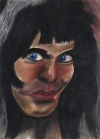 Blackie Lawless Pastle Colour by WASP-Deviations