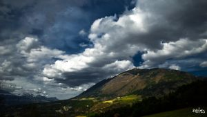 Clouds over the hill by rdalpes