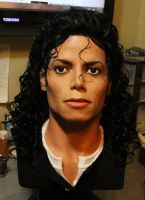Bad era lifesize bust Michael Jackson 1/1 by godaiking